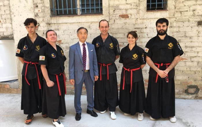 Examen de cinturons negres a Ourense 2018